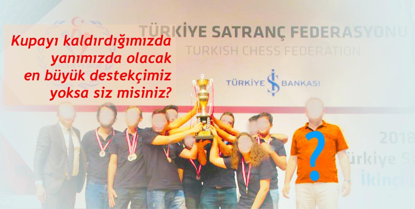 Burhaniye Satranç Spor Kulübü, Türkiye Satranç Birinci Ligi'nden, İş Bankası Satranç Süper Ligi'ne yürüyecek yol arkadaşı arıyor